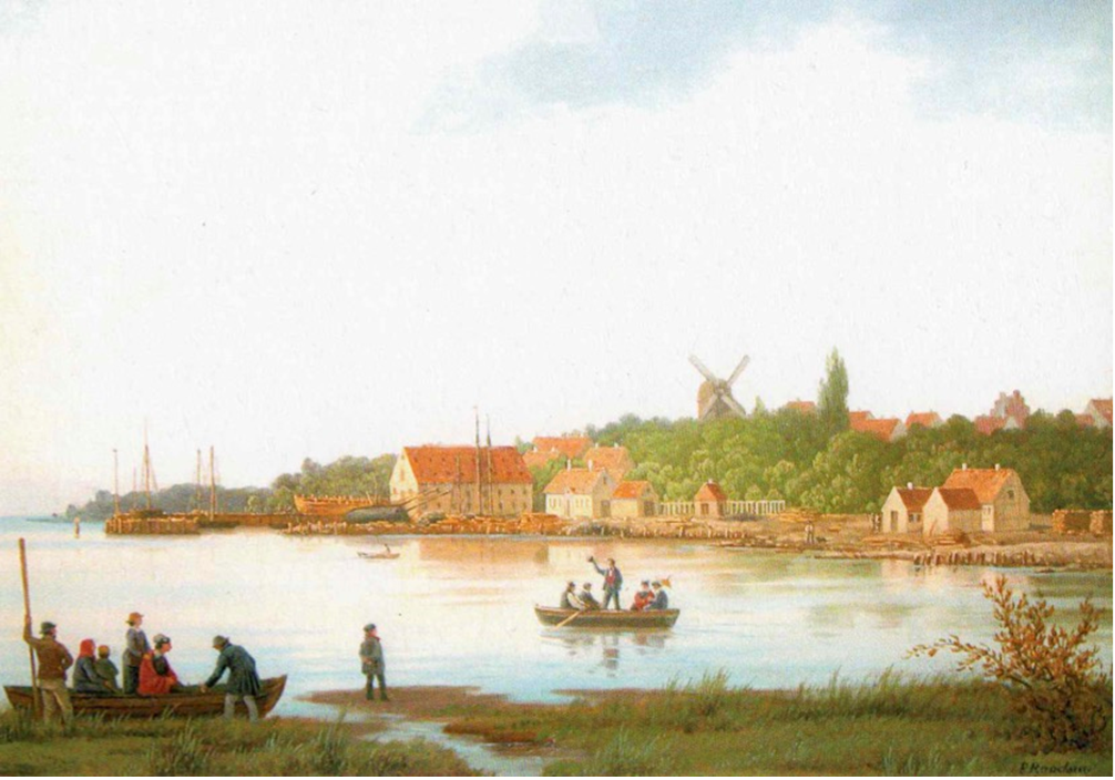 Maleri af Peter Raadsig fra 1871