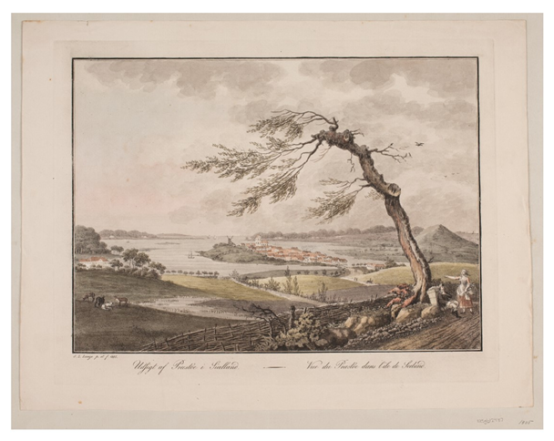 OH: Billede fra Præstø i 1805 af Søren L. Lange
