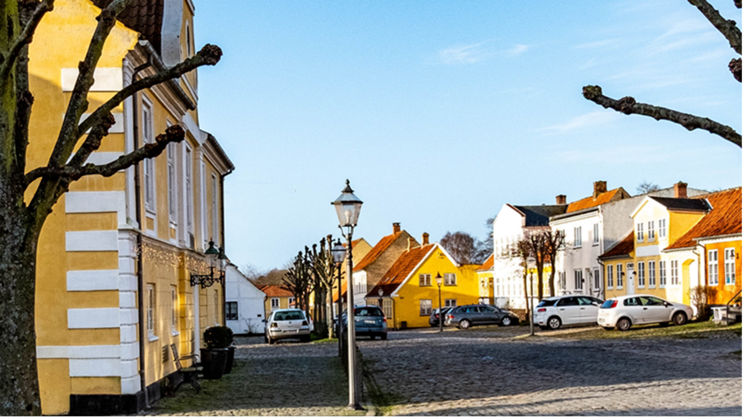 Grønnegade i Præstø. © Niels Dentrup